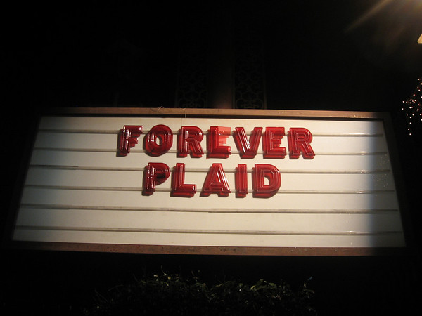 Glendale Centre Theatre - Forever Plaid - 2011_01_05